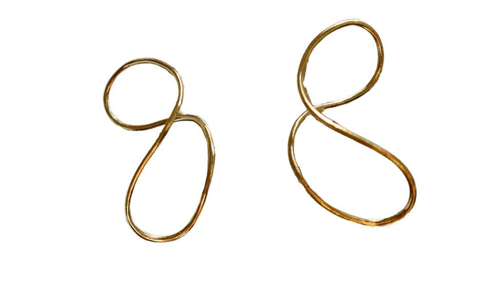 SGE38 Silver Earrings
