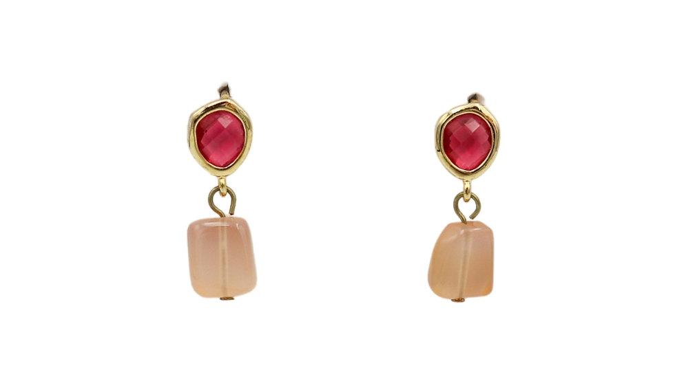 Classic Pink Earring