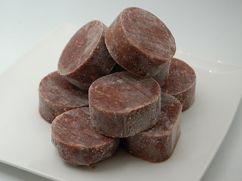Raw Mixed Medallions - 80% Mussel Meat, 20% Offal & Mussel Extract - Per Kilo