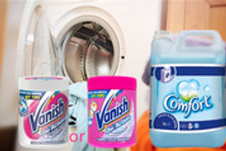 2x5 ltrs Comfort and 1KG Vanish Pink OR White
