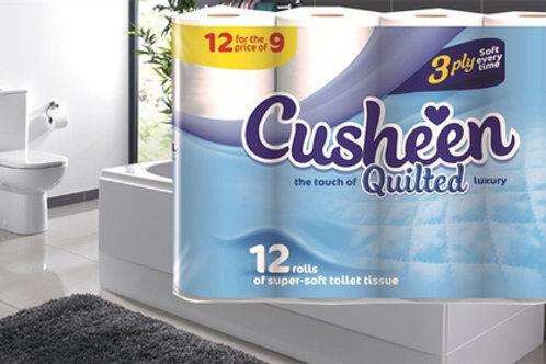 180 x Cusheen Toilet roll