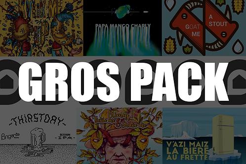 LE GROS PACK (33cl x24)