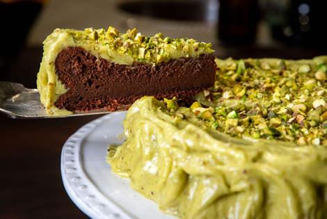 Belgian Chocolate Flourless Cake