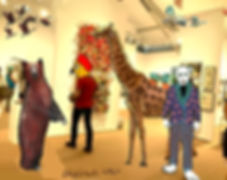 Animals_Invade_the_Artworld_—_Giraffe.