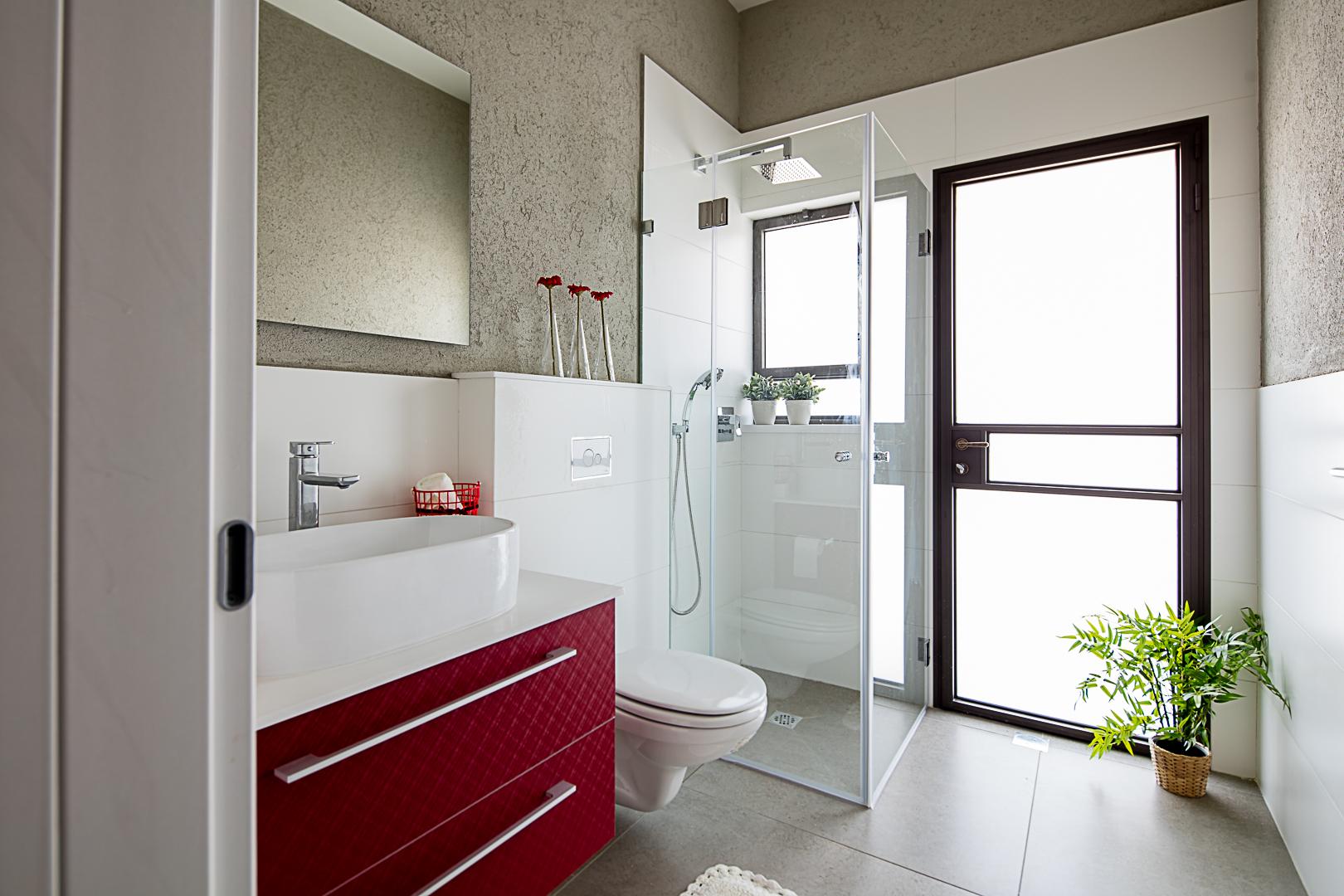 מקלחת אורחים