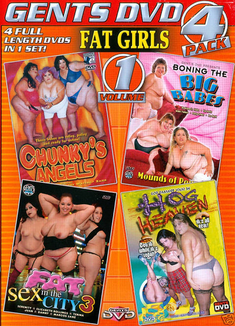 FAT GIRLS Vol. 1 - 4 PACK