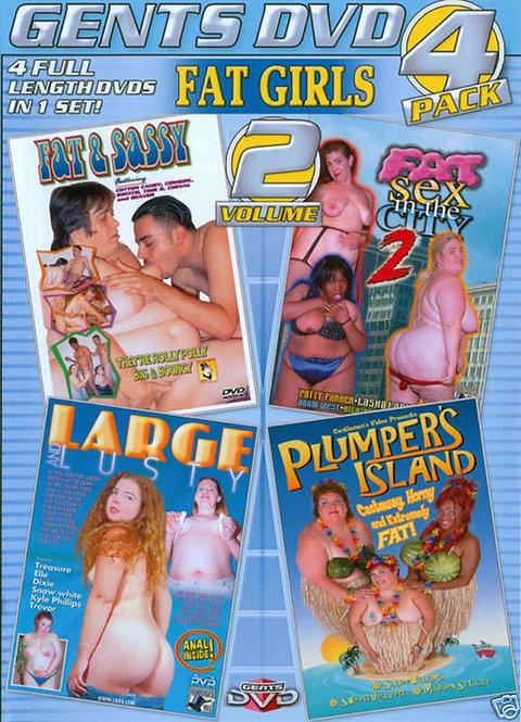FAT GIRLS Vol. 2 - 4 PACK