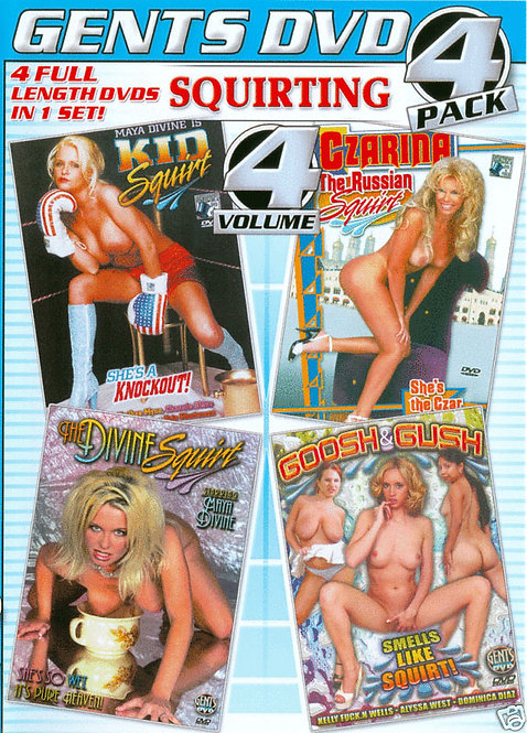 SQUIRTING Vol. 4 - 4 PACK
