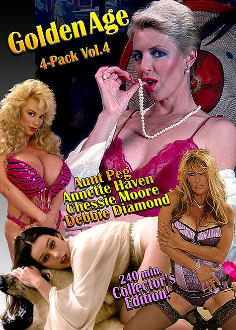 Golden Age of Porn Vol. 4 - 4 Pack