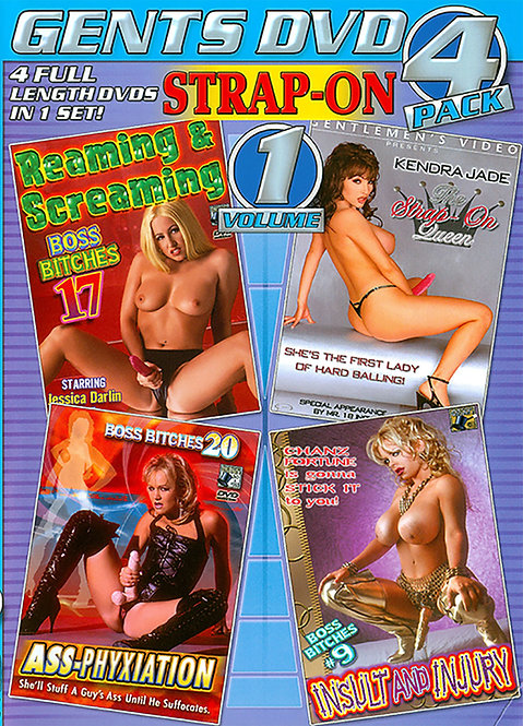 Strap-On Vol. 1 - 4 Pack
