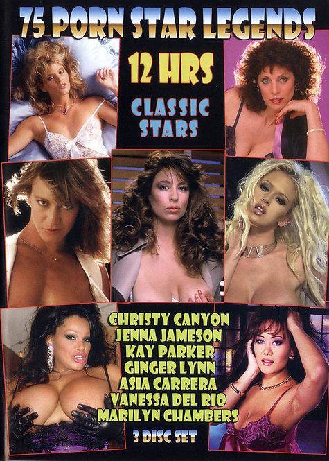 75 Porn Star Legends • 3 DVDs • Over 12.5 Hours