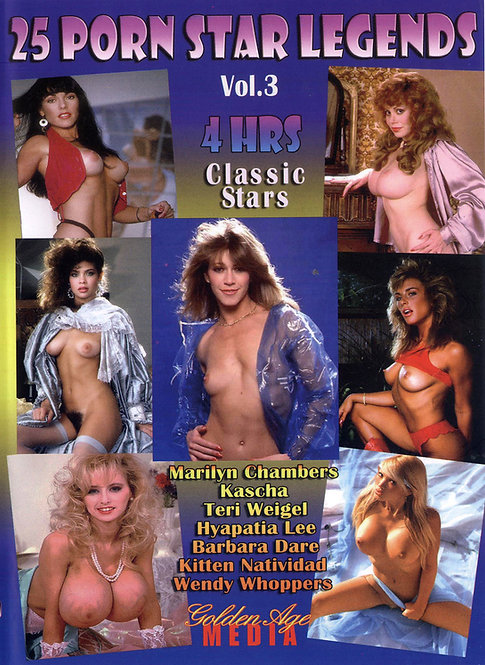 25 PORN STAR LEGENDS Vol 3