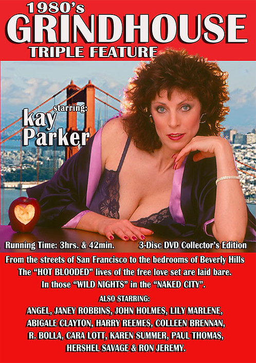 KAY PARKER in1980's GRINDHOUSE TRIPLE FEATURE