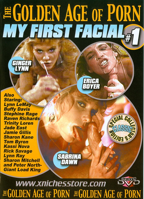 MY FIRST FACIAL in GOLDEN AGE OF PORN