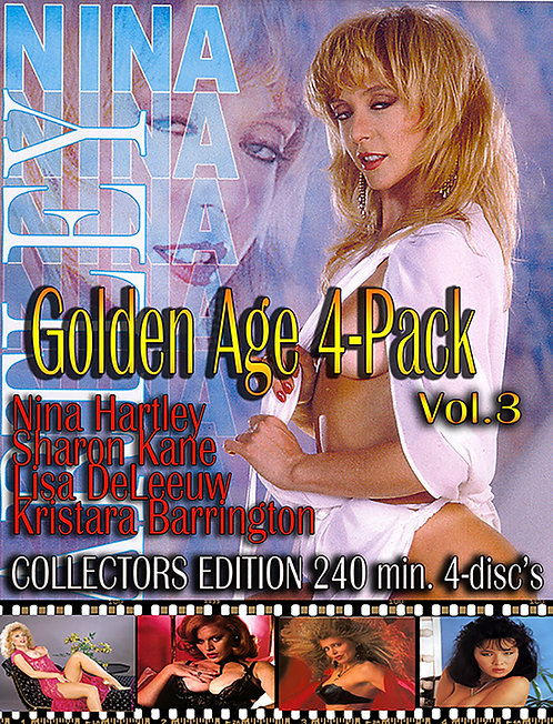Golden Age of Porn Vol. 3 - 4 Pack