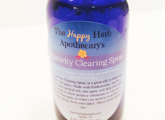 Negativity Clearing Spray