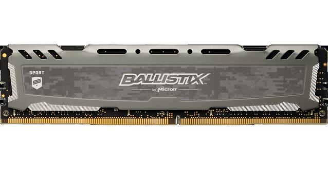 Crucial Ballistix Sport LT Gray 8GB DDR4 3000Mhz