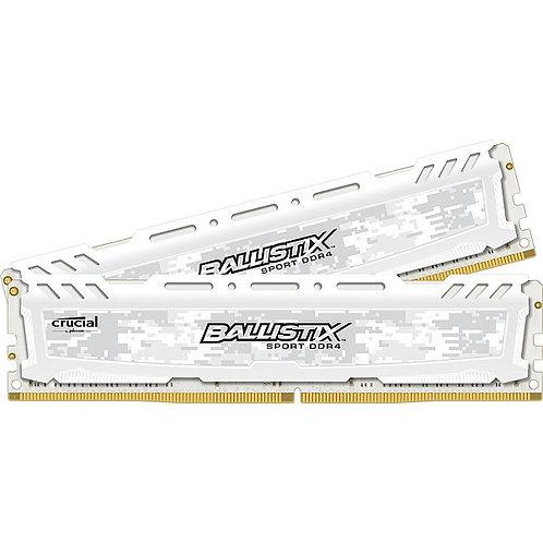 Crucial Ballistix Sport LT White 16GB DDR4 3000Mhz