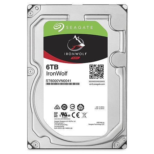 Seagate IronWolf ST6000VN0041 6TB