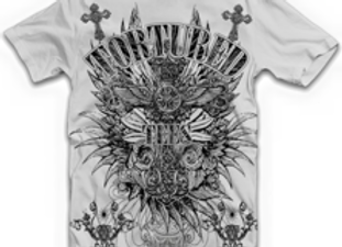 Men's T-shirt- Tortured Cross