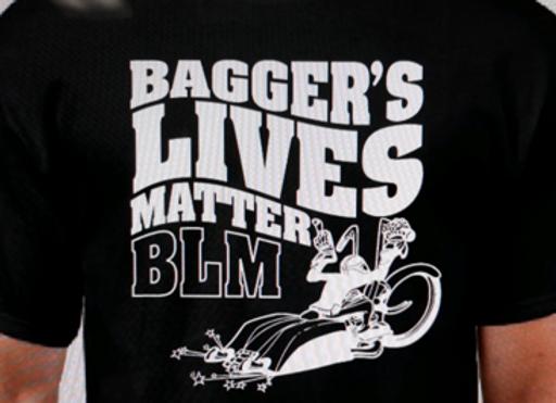 Bagger's Lives Matter Mens T-shirt