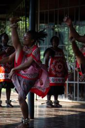 Traditional Swazi Dancer.