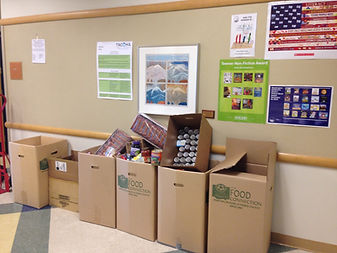 Blix Elementary Food Drive picture.JPG