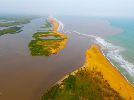 La Bouche du Roy, une des merveilles naturelles du Bénin et de l'Afrique