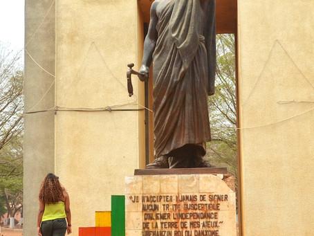 La statue de Goho, le symbole d'une lutte anticoloniale