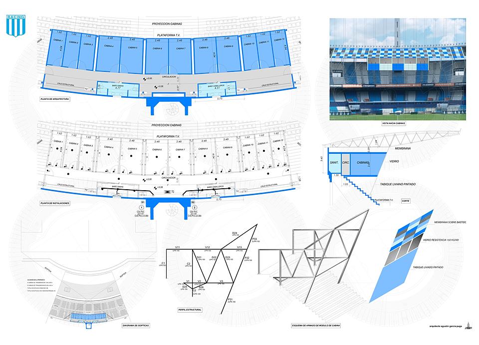 Proyectos for Puerta 20 estadio racing