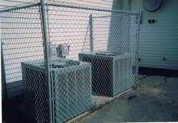 Air Conditioning Unit Enclosure