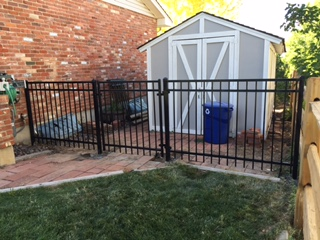 Ornamental Iron with Gate