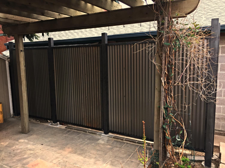 Steel/Metal Fence
