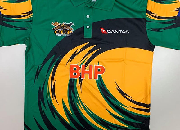 BSC 2019 Green Wave Polo Shirt