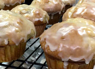 IT'S NATIONAL MUFFIN DAY AND AT CHARRED OAKS INN MUFFINS ARE ON THE MENU!