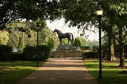 Man O War, Kentucky Horse Park, minutes from Charred Oaks Inn