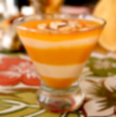 Signature Fruit & Yogurt Parfait at Charred Oaks Inn Bed and Breakfast