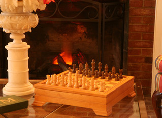 COZYING UP TO THE FIREPLACE AT CHARRED OAKS INN