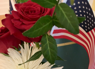 ALL OF US AT CHARRED OAKS INN REMEMBER OUR VETERANS AND THEIR FAMILIES WITH GRATITUDE AND ADMIRATION