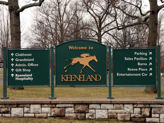 CHARRED OAKS INN SHARES THE NEWS:  THE APPLICATION WINDOW FOR KEENELAND'S SPRING MEET IS NOW OPEN!