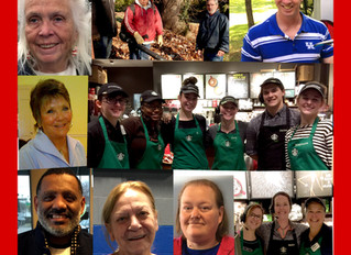 DURING THIS HOLIDAY SEASON AT CHARRED OAKS INN WE RECOGNIZE THE SPECIAL FOLKS BEHIND THE SCENES