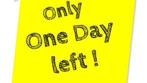 It's almost the first Supplementary Declaration deadline day!