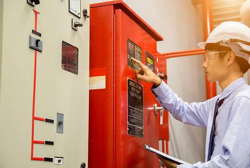 Industrial fire control system,Fire Alar