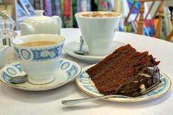Tea, Coffee & Rich Chocolate Fudge