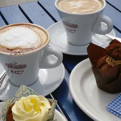 Coffee, Lemon Cups & Choca Mocha