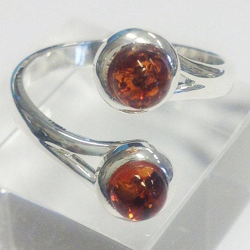 Amber Rachel Adjustable Ring