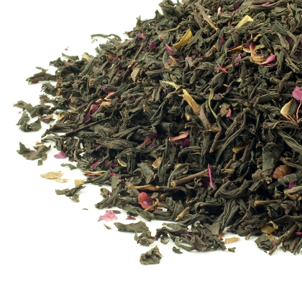 Rose Congou Black Tea with Rose