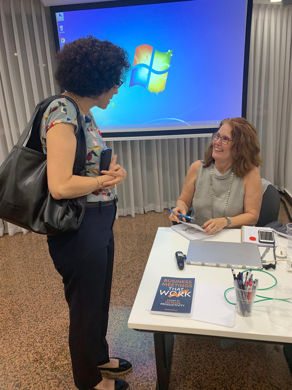 Working with experienced, top Women Executives was refreshing and invigorating