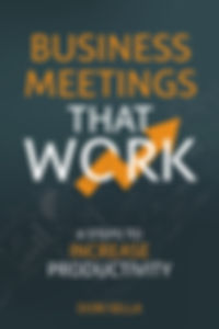 Dori Sella Business Meetings That Work Book