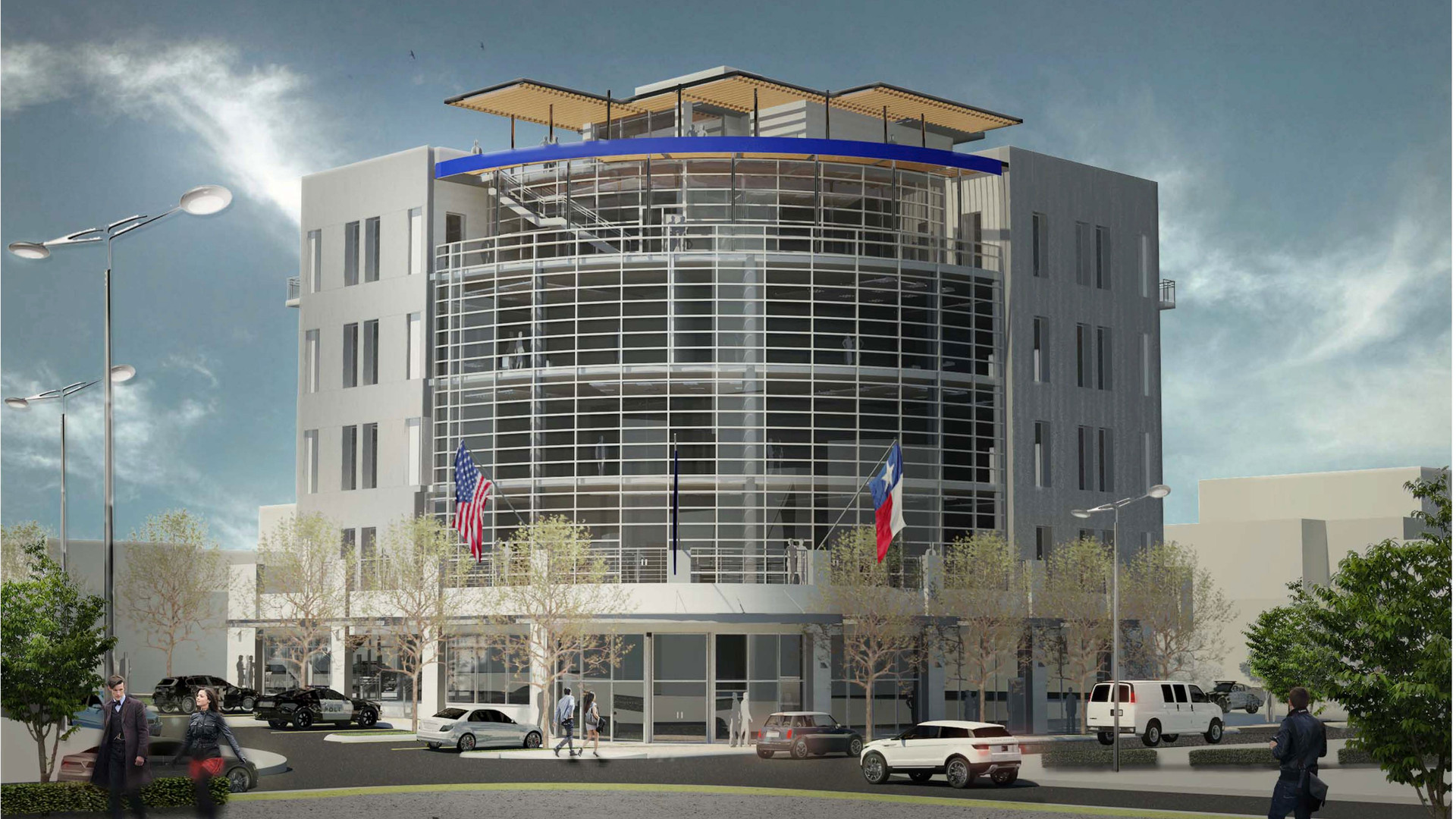 FWPOA Office Bldg. rendering, Ft. Worth,
